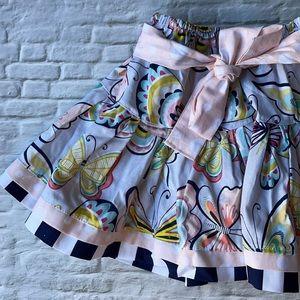 CAROLINA KIDS | Bow accent circle skirt